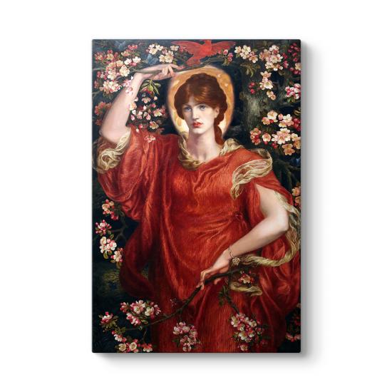 Dante Gabriel Rossetti - A Vision Tablosu