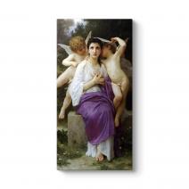 William Adolphe Bouguereau - Awakening Tablosu