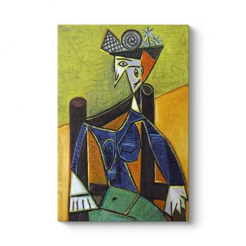 Pablo Picasso - Femme Assise Tablosu