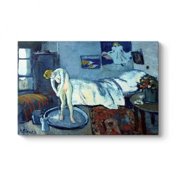 Pablo Picasso - The Blue Room Tablosu