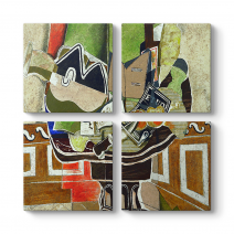 Georges Braque - The Round Table Tablosu