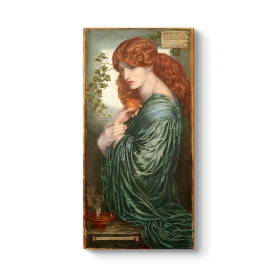 Dante Gabriel Rossetti - Proserpine Tablo