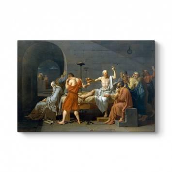 Jacques Louis David - Sokrates'in Ölümü Tablosu
