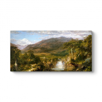 Frederic Edwin Church - Heart of the Andes Tablosu