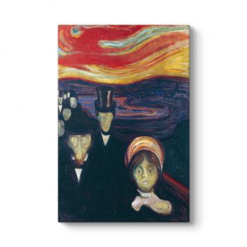 Edvard Munch - Anxiety Tablosu