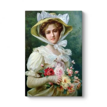 Emile Vernon - Elegant Lady Tablosu
