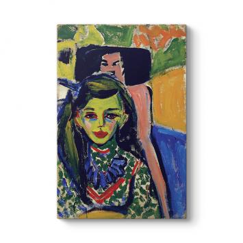 Ernst Ludwig Kirchner - Chair Tablosu
