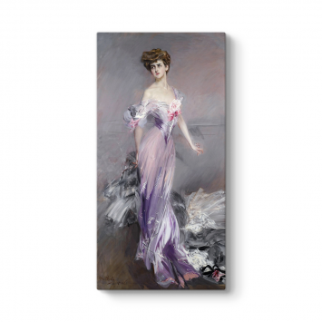 Giovanni Boldini - Mrs. Howard Johnston Tablosu