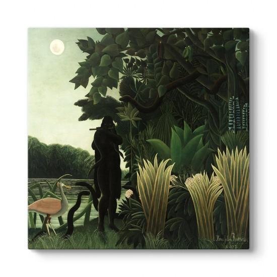 Henri Rousseau - Snake Charmer Tablosu