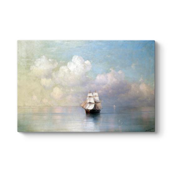 Ivan Ayvazovski - Calm Seas Tablosu