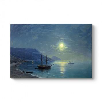 Ivan Ayvazovski - Evening in Crimea Tablosu