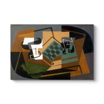 Juan Gris - Chessboard Tablosu