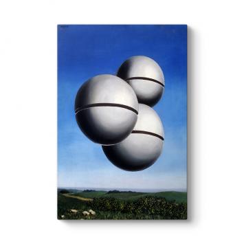 Rene Magritte - Stolen Ball Tablosu
