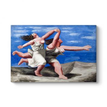 Pablo Picasso - Women Running Tablosu