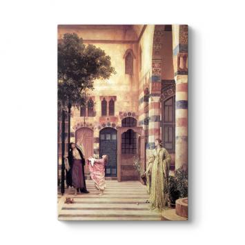 Frederic Leighton - Old Damascus Tablosu