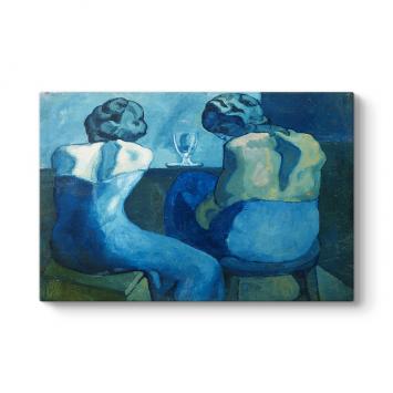 Pablo Picasso - Prostitutes Bar Tablosu