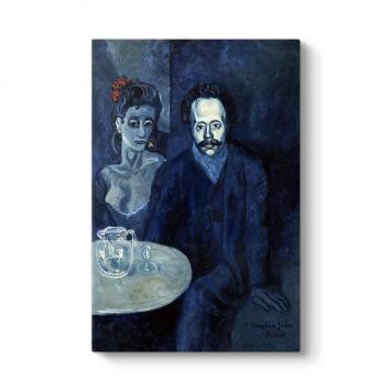 Pablo Picasso - Portrait of Sebastia Tablosu