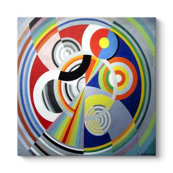 Robert Delaunay - Rythme No:1 Tablosu