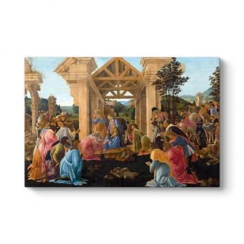 Sandro Botticelli - Adoration Tablosu