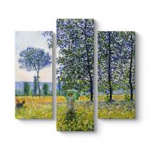 Claude Monet - Kavaklar Altında Tablosu