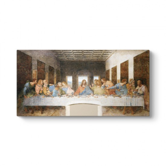 Leonardo da Vinci - Son Akşam Yemeği Tablosu