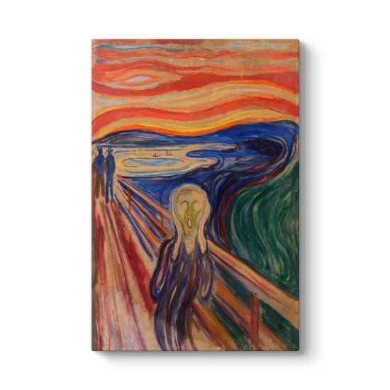 Edvard Munch - The Scream Tablosu