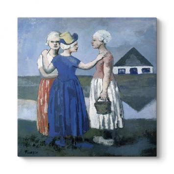 Pablo Picasso - Trois Hollandaises Tablosu