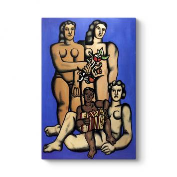 Fernand Leger - Three Sisters Tablosu