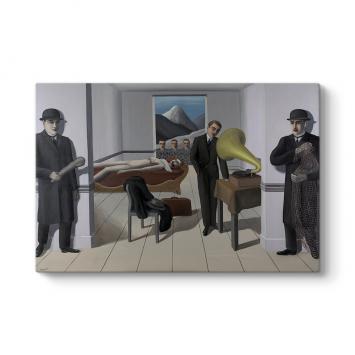 Rene Magritte - The Menaced Assassin Tablosu