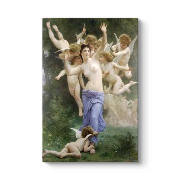 William Adolphe Bouguereau - Kalbin Uyanışı Tablosu