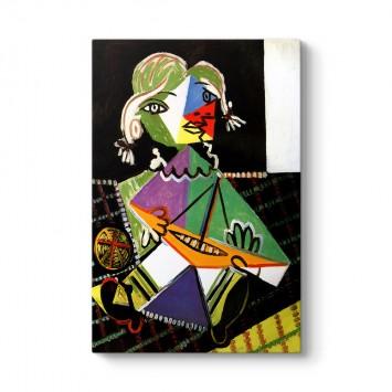 Pablo Picasso - Maya Sail Boat Tablosu