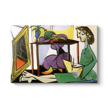 Pablo Picasso - Interior Tablosu