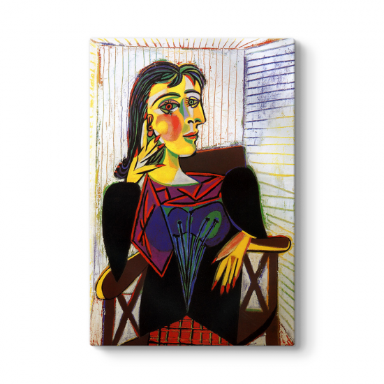 Pablo Picasso - Dora Maar Tablosu