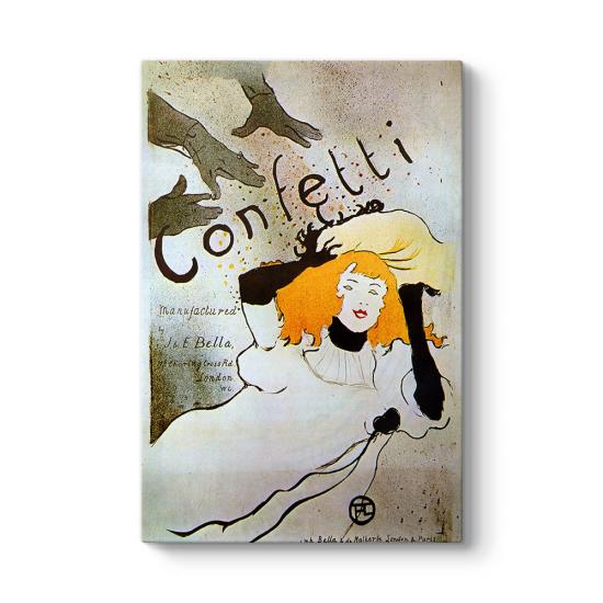 Henri de Toulouse - Confetti Tablosu