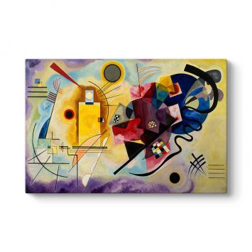 Wassily Kandinsky - Y. R. and B. Tablosu