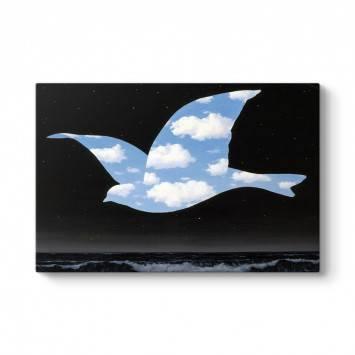 Rene Magritte - Bird Tablosu