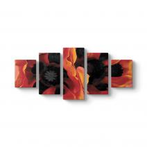 Georgia OKeeffe - Oriental Poppies Tablosu
