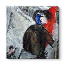 Marc Chagall - Between Tablosu