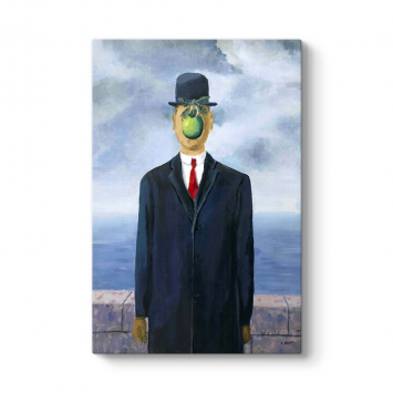 Rene Magritte - The Son Of Man‏ Tablosu