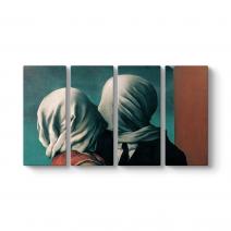Rene Magritte - The Lover II Tablosu