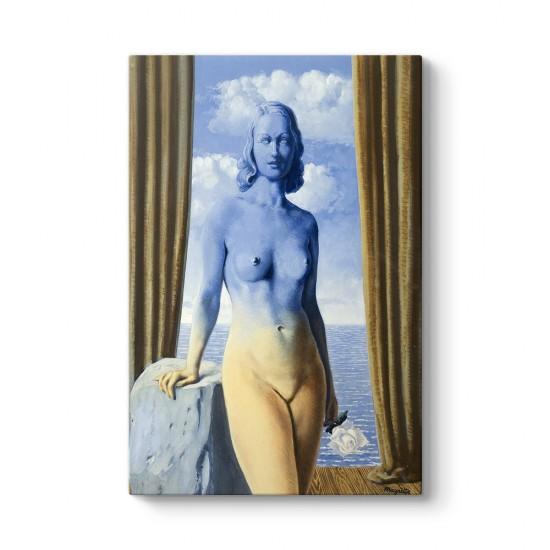 Rene Magritte - La Magie Noire Tablosu
