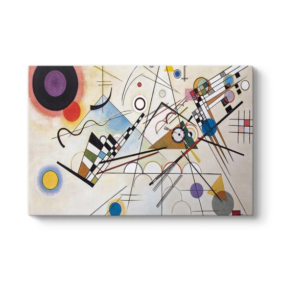 Wassily Kandinsky - Composition VIII Tablosu