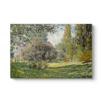 Claude Monet - The Parc Monceau Tablosu