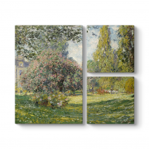 Claude Monet - The Parc Monceau Tablosu
