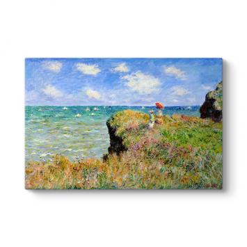 Claude Monet - Landscape Tablosu