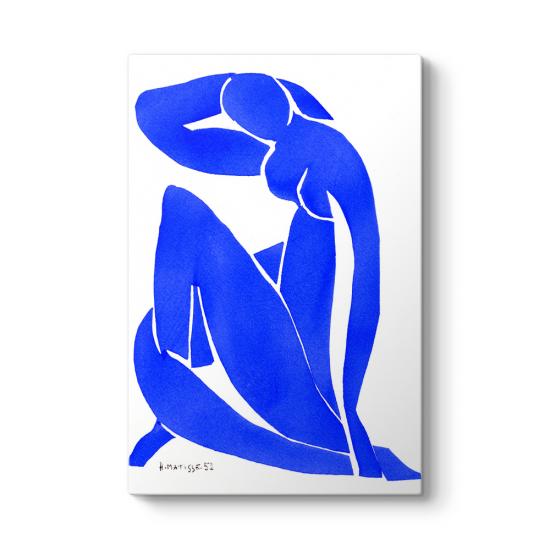 Henri Matisse - Nu Bleu II Tablosu