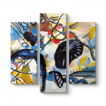 Wassily Kandinsky - Mostra Vercelli Tablosu