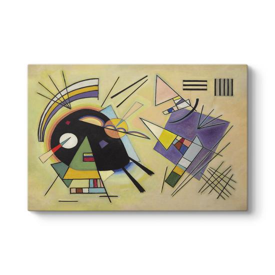 Wassily Kandinsky - Black And Violet Tablosu