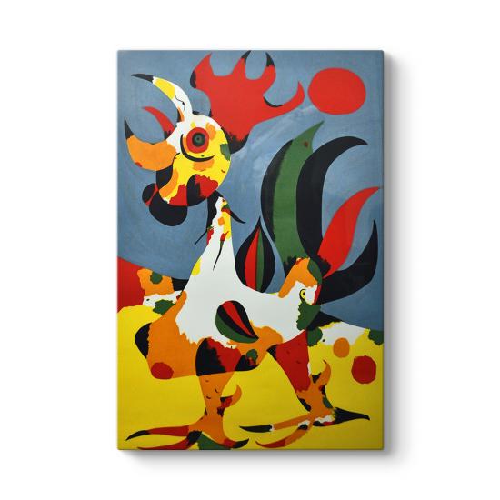 Joan Miro - Cock Tablosu