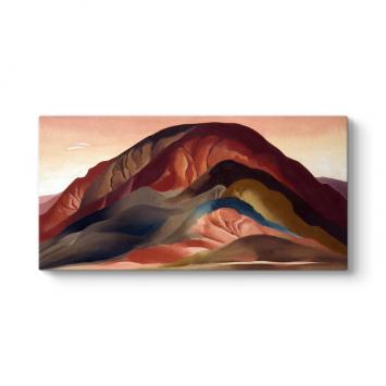 Georgia OKeeffe - Rust Red Hills Tablosu